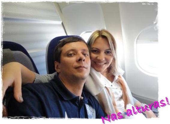 Dentro do avião Lufthansa